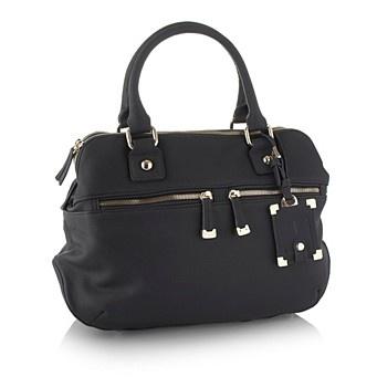 J by Jasper Conran Navy double zip pocket tote bag - Shopper & tote bags - Handbags & purses - Women - Debenhams Mobile