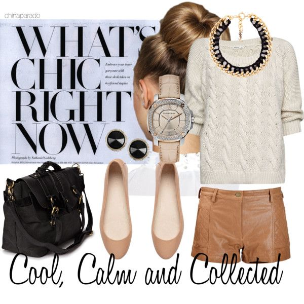 """Cool, Calm and Collected"" by chinaparado on Polyvore"
