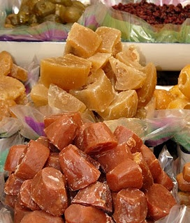 traditional mexican yam cristalized candy