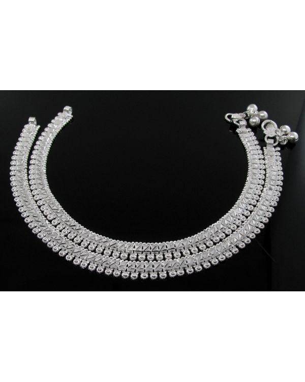 the ak anklets designer girls silver for beautiful luxor and anklet women