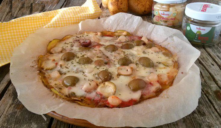 Pizza di patate con olive ricetta pronta in 15 minuti
