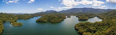 Panoramic view of Copperlode Dam/Lake Morris. Picture by Matthew Hermes.