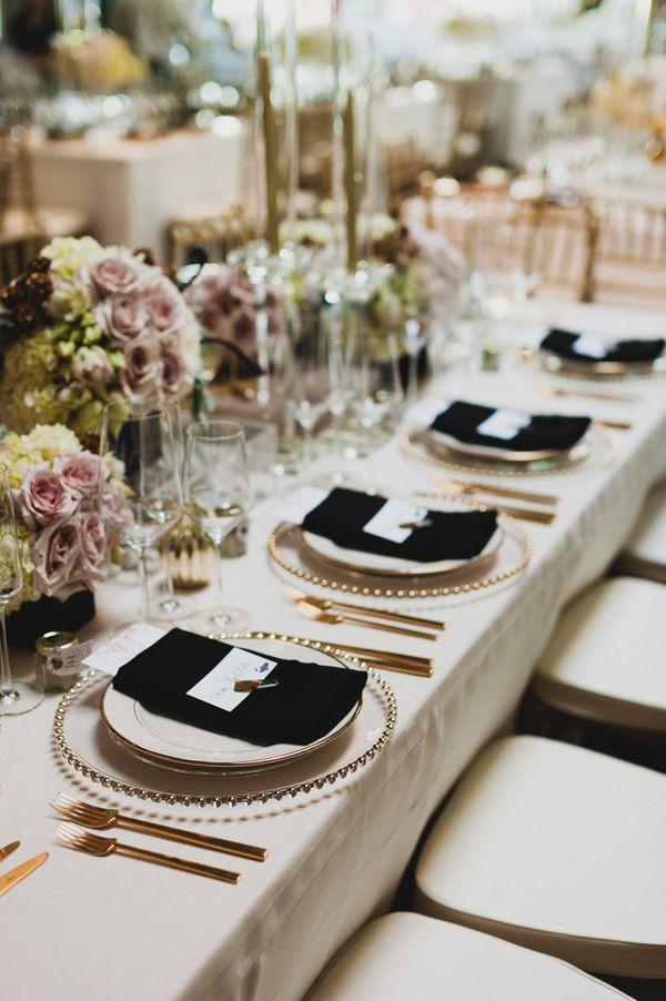 modern glam reception - photo by Chaz Cruz http://ruffledblog.com/boho-glam-wedding-in-colorado