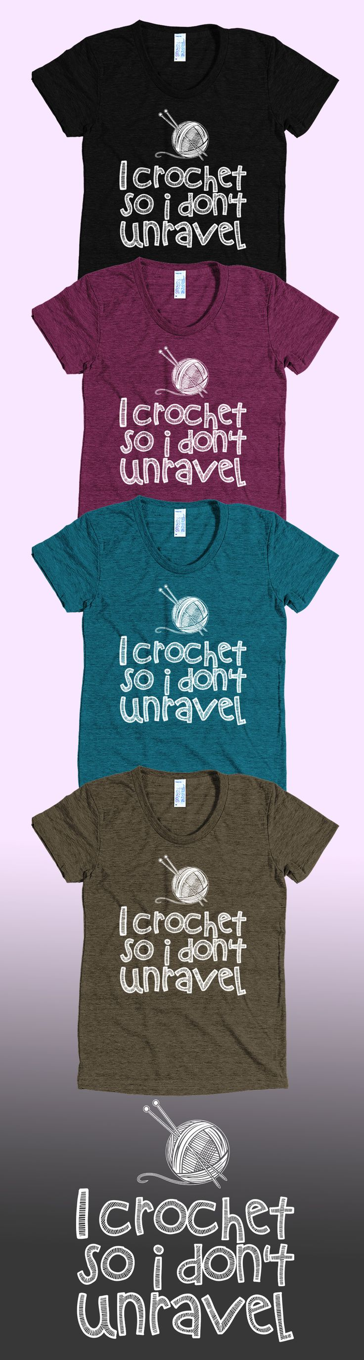 Love crocheting and knitting? Check out this awesome crocheting t-shirt you will not find anywhere else. Not sold in stores and only 2 days left for free shipping! Grab yours or gift it to a friend, you will both love it