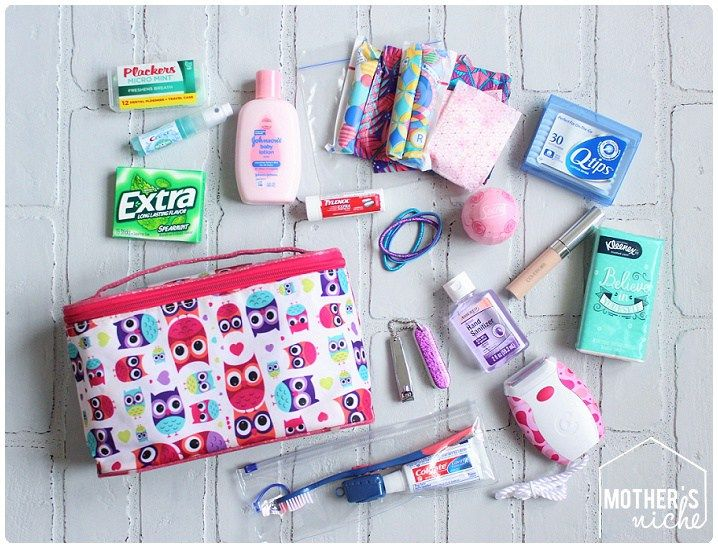 MIDDLE SCHOOL SURVIVAL KIT for GIRLS – Locker/school