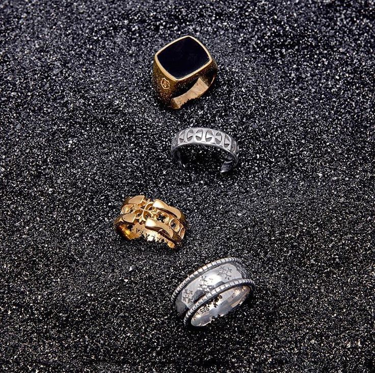 All new mens rings by Nialaya Jewelry