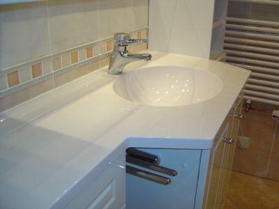 Un meuble vasque design de chez Aubade