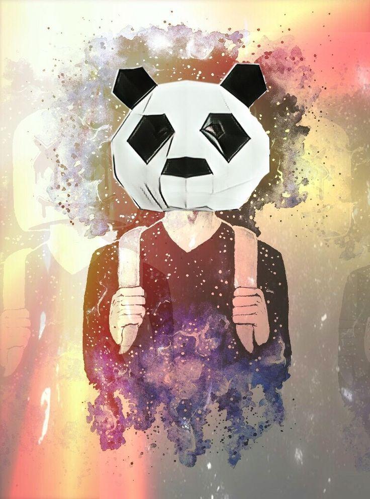 Картинка панды для авы в стим