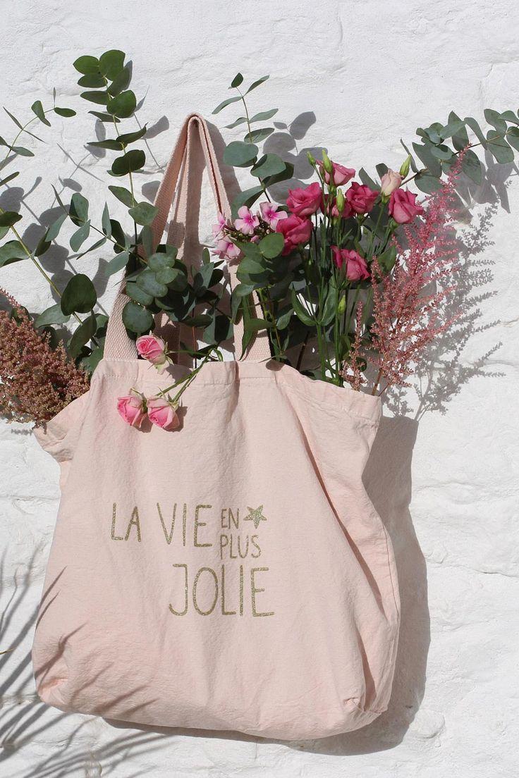 Tote Bag Pena Rose - Sac - Des Petits Hauts 1