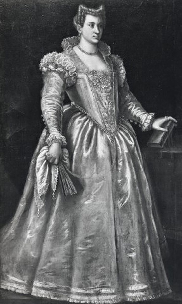 Francesco Montemezzano, Portrait of a Lady (maybe Eleonora Gonzaga), Private Collection, ca. 1590