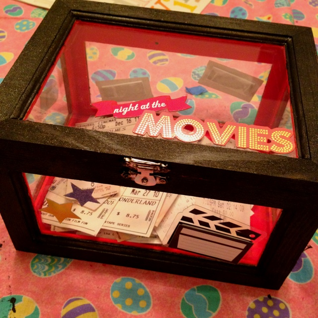 Gift ideaspinterest j s chateau framed projects makenzi jo special tickets stub ideas negle Images