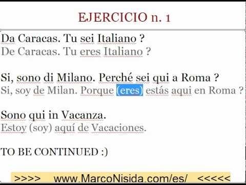 Curso de Italiano Gratis 5 Aprender Italiano Online