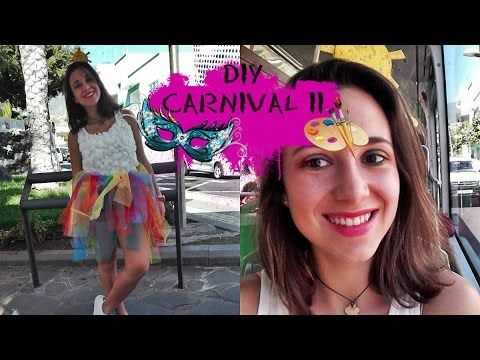 DIY CARNAVAL: Disfraz arco iris