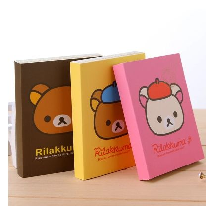 3pcs Wholesale Korean Stationery Japaneser Style Kawaii Cute Paper Rilakkuma Notebooks & Writing Pads Office & School Supplies-in Notebooks from Office & School Supplies on Aliexpress.com | Alibaba Group