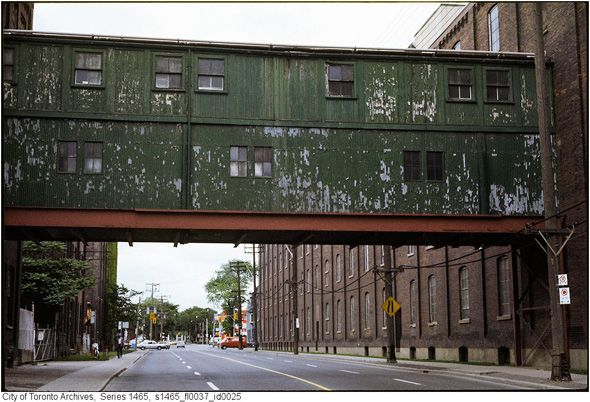 What Liberty Village looked like before the condos