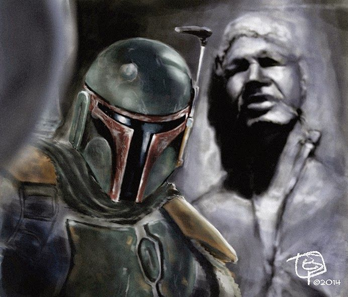 Selfie Boba Fett. E. Pitarch ©2014. All rights reserved.