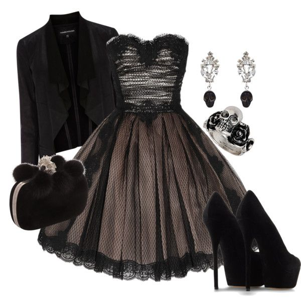"""Punk Prom"" by midnightchance on Polyvore"