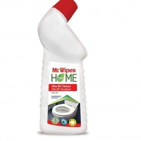 Mr. Wipes Ultra Tuvalet Temizleyicisi yeni konsantre formülü ile Tuvaletlerin iç yüzey ve kıvrımlarında oluşan kireç, kir birikimlerini ve pas lekelerini çözer, temizler. Dezenfekte ederek mikropları öldürür. Fosfat ve klor içermeyen özel bileşimi biyolojik olarak doğada parçalanan aktifleriçerir. Özel açılı başlığı sayesinde tuvaletin en iç kısımlarına kadar ulaşır. Kolayca durulanır. Kalıntı kalmaz. Sinmiş kötü kokuları yok eder. Yüzeyde gün boyu koruyucu bir tabaka oluşturur. Yüzeyleri…