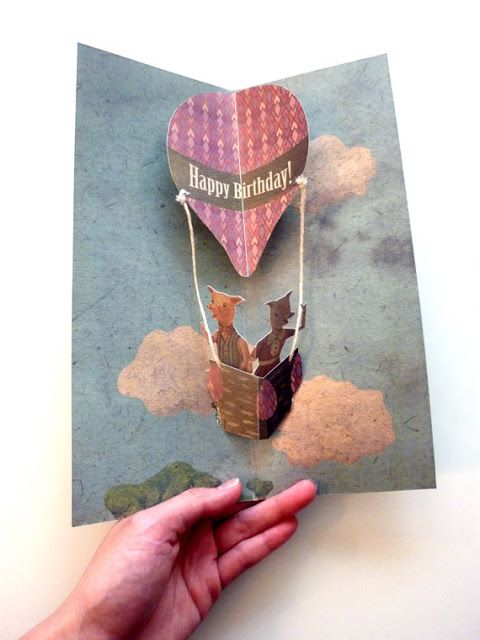 Artist in LA LA Land Illustration & Design: Art Projects: Pig Pop Up Card Work in Progress