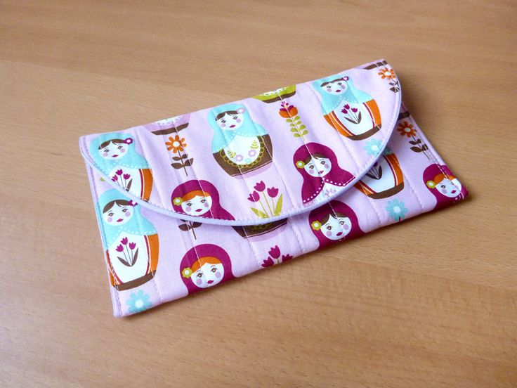 LovCraftShop - Russian doll wallet with magnetic button