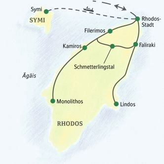 Map of Rhodes!
