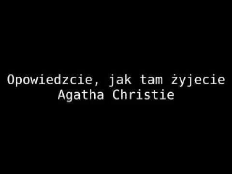 Opowiedzcie, jak tam żyjecie - Christie Agatha   Audiobook PL całość