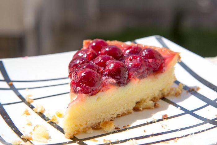 Тирольский пирог с вишней | Кулинарные рецепты от «Едим дома!»