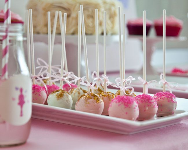 Ballerina cake pops by As Sweet As It Gets www.assweetasitgets.com/blog