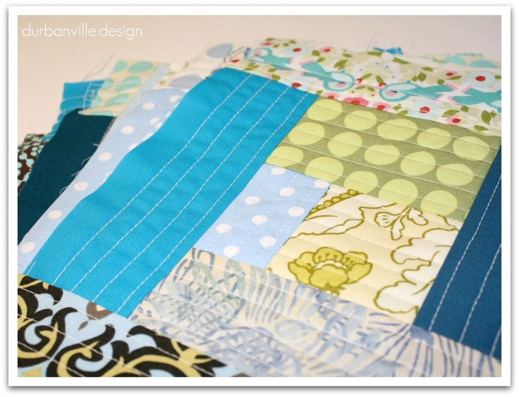 91 best Quilt as you go images on Pinterest | Tutorials, Crafts ... : quilt as you go log cabin - Adamdwight.com