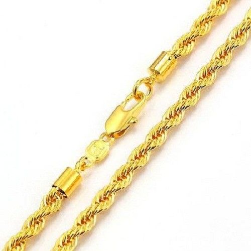 Gold Necklace For Men Have A Bolder Look Unlike Those Of Women And Are