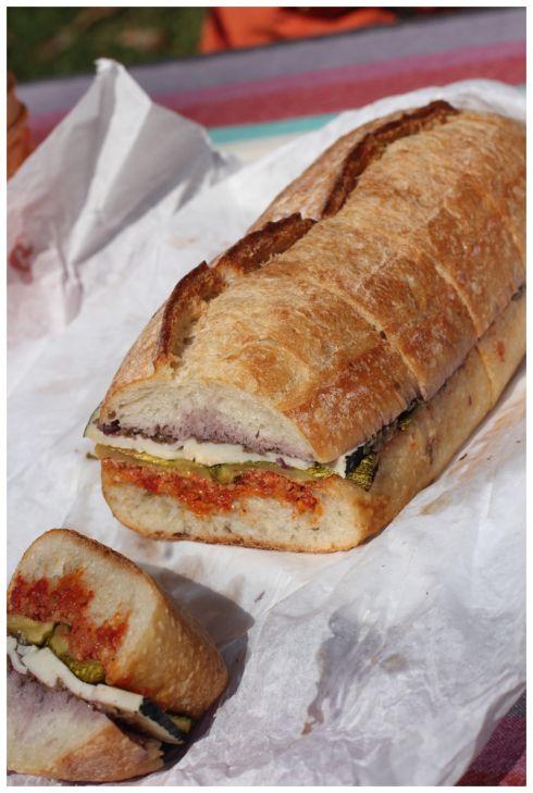 Sanduches de vegetales asados // roasted vegetable sandwich