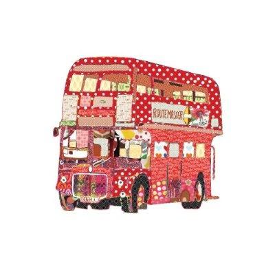 Patchwork London Bus