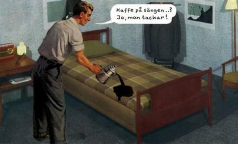 JAN STENMARK | kaffe på sängen