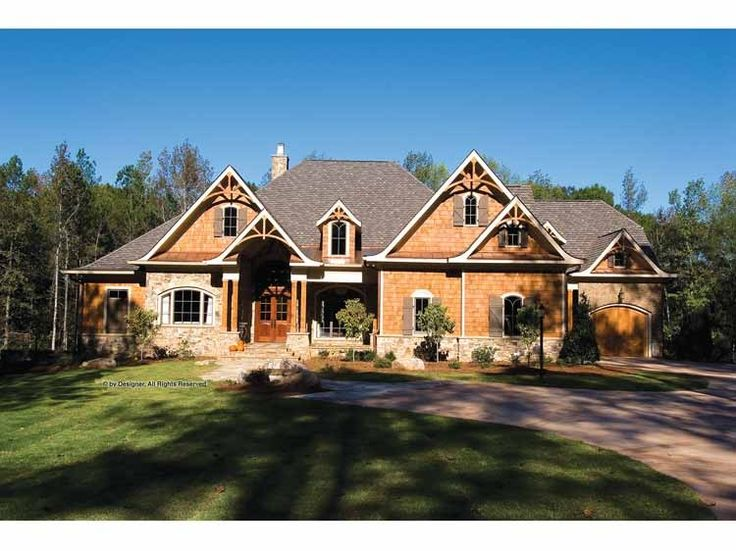Eplans Craftsman House Plan Rustic And Luxurious 5099