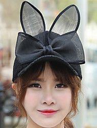 Women+Spring+Bow+Lace+Rabbit+Ears+Ladies+Wholesale+Baseball+Cap+–+USD+$+9.99