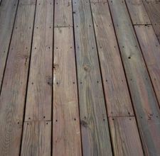 How to cover a concrete porch with wood. (tutorial)