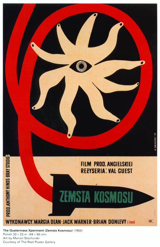 A great Polish poster for the Quartermass Xperiment from 1955.