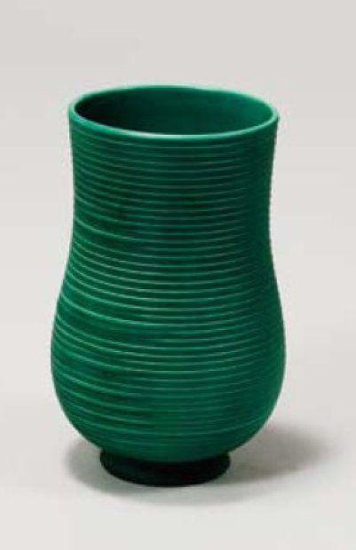 Gio Ponti , Vaso in ceramica. Prod. Richard Ginori, San Cristoforo, 1930 ca.