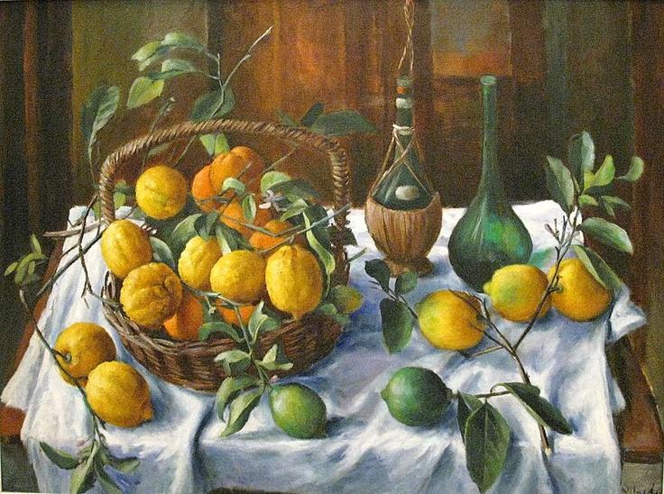Margaret Olley Lemons.