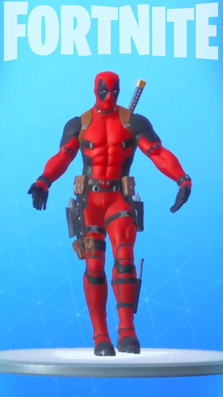 Fortnite deadpool skin phone wallpaper backgrounds for