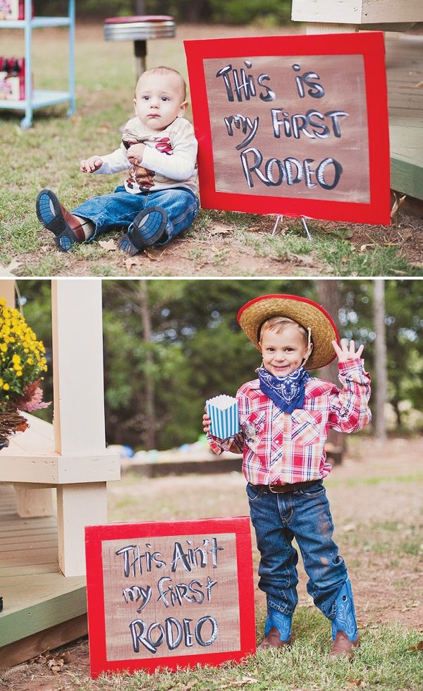 """I frequently say """"this isn't my first rodeo"""" - this boys birthday party is a first rodeo!"""