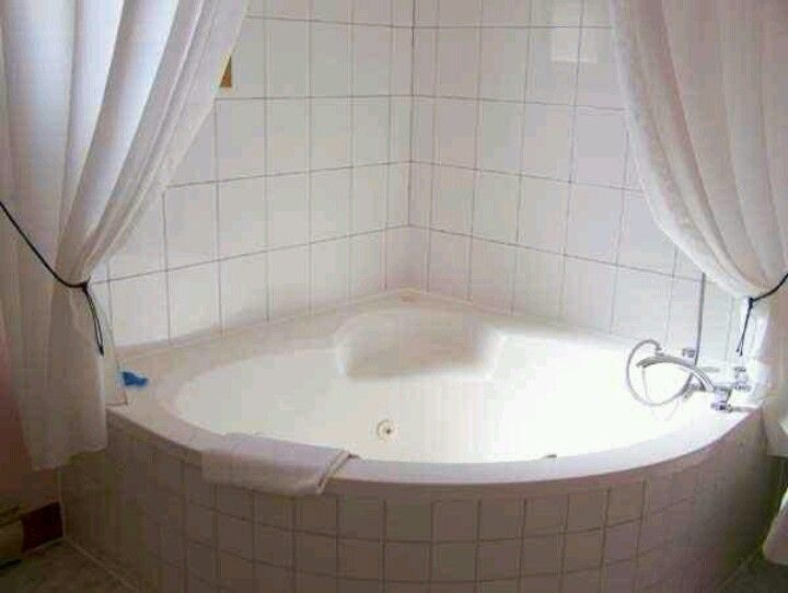 Jacuzzi Tub And Shower Curtain Bathroom Fun Pinterest Showers Curtains And Make It