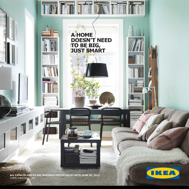 Ikea Catalogue Cover   Great For Multipurpose Dining Room And Home Office  Space