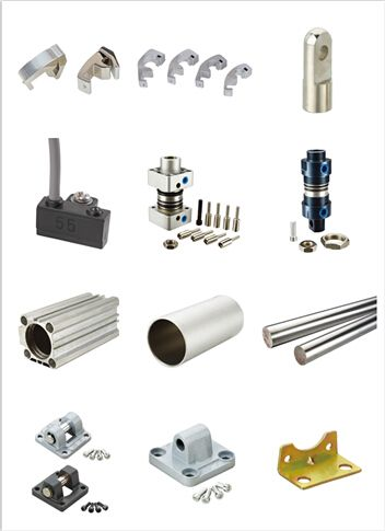 We are professional factory of all kinds of pneumtaic products: these are cylinder accessories