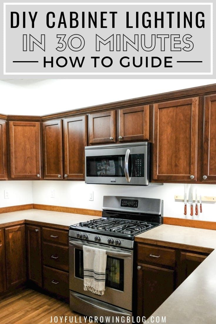 Easy to follow how to guide for installing diy under and