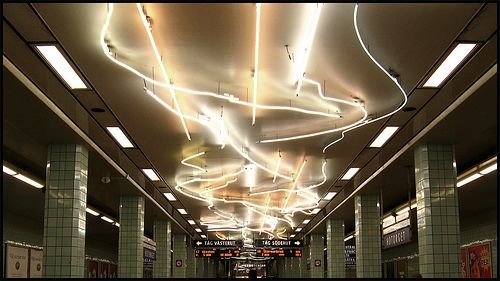 Hötorget subway station by neppetsflow, via Flickr
