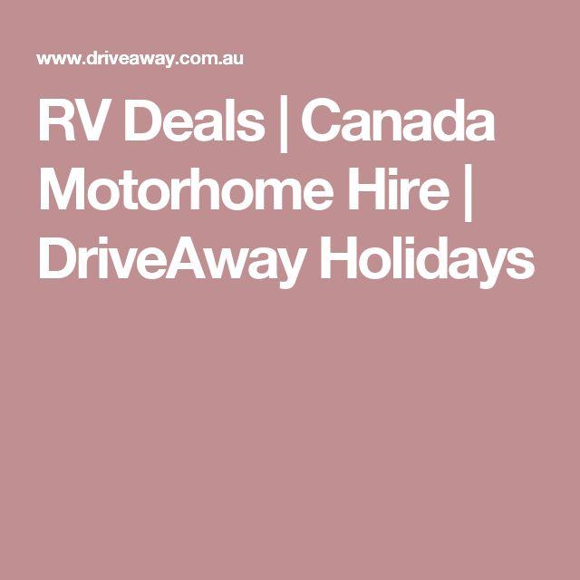 holidays canada hire