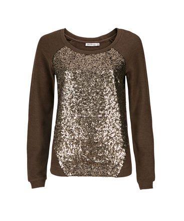 Ricki's - Sequin Panel Sweatshirt
