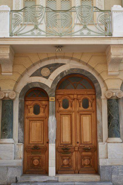 Door in Kolonaki Athens