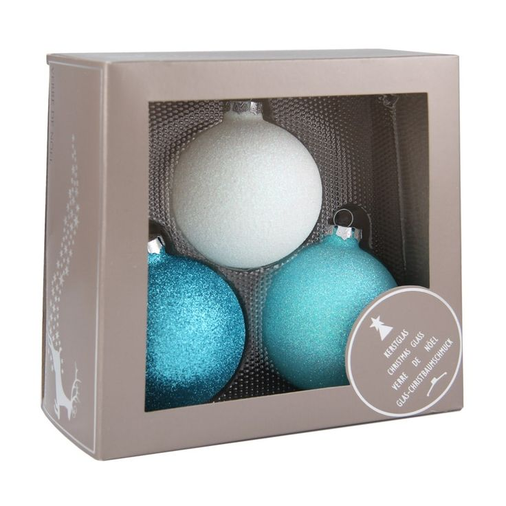 Christmas baubles set, glitter Frozen theme | It's all about Christmas